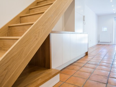 Belsize Park stairs joinery 2