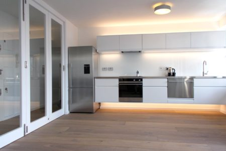 London flat refurbishment kitchen