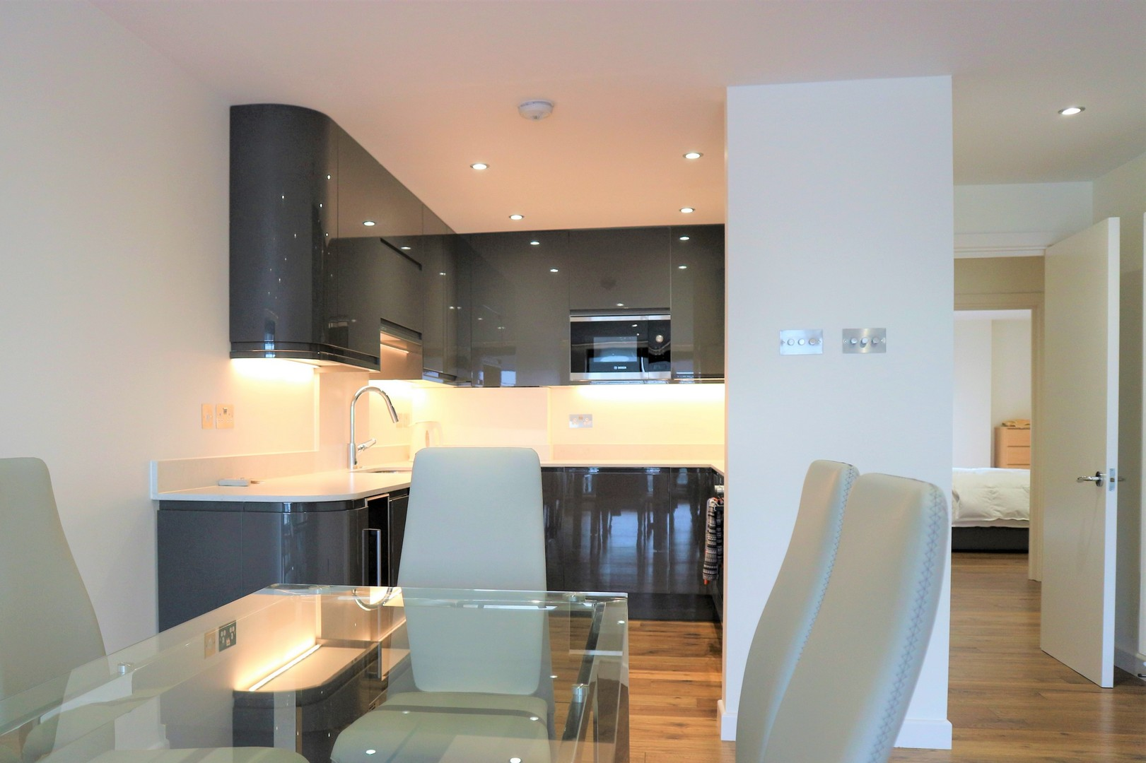 A London docklands flat refurbishment